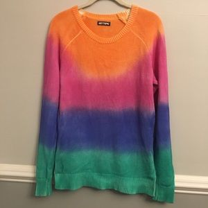 Hot Topic Rainbow Sweater